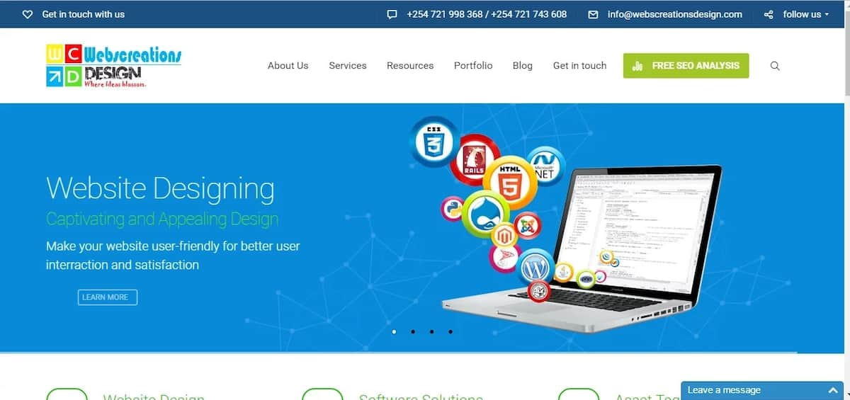 Top Places to Learn Web Design in Kenya
