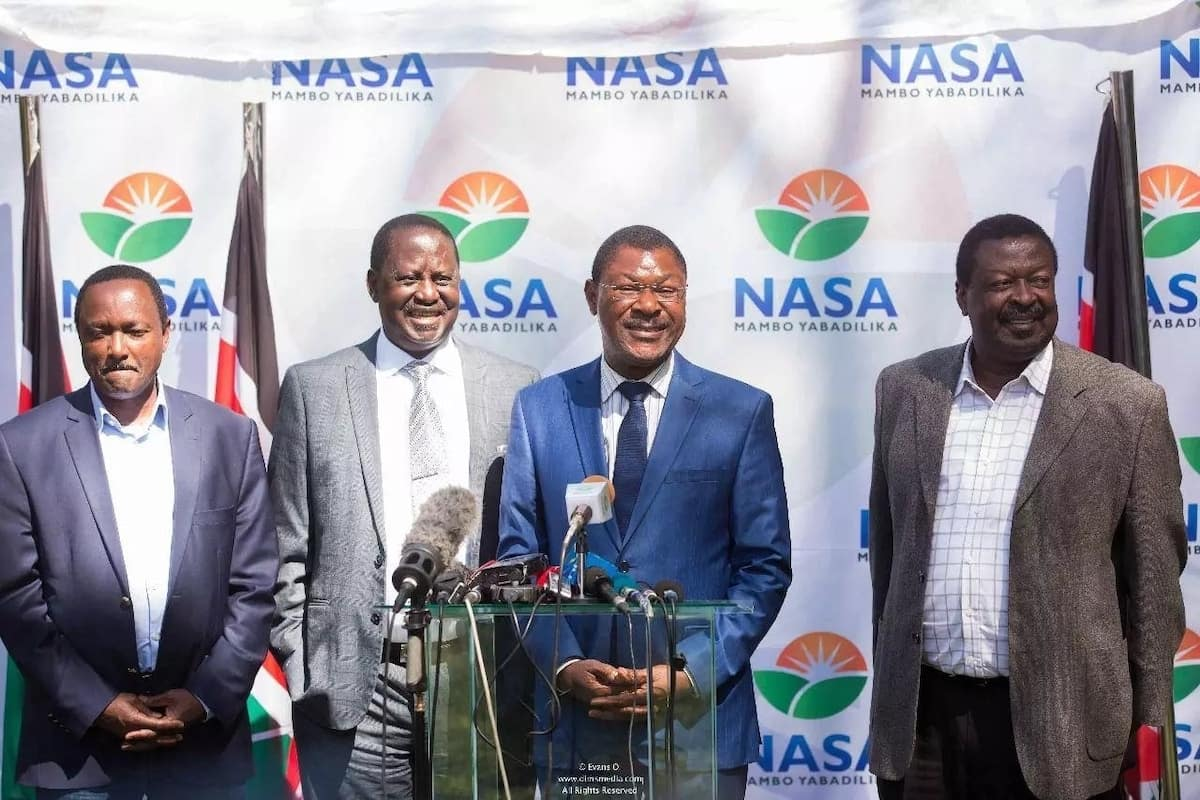 It's over between me and Raila - Moses Wetangula