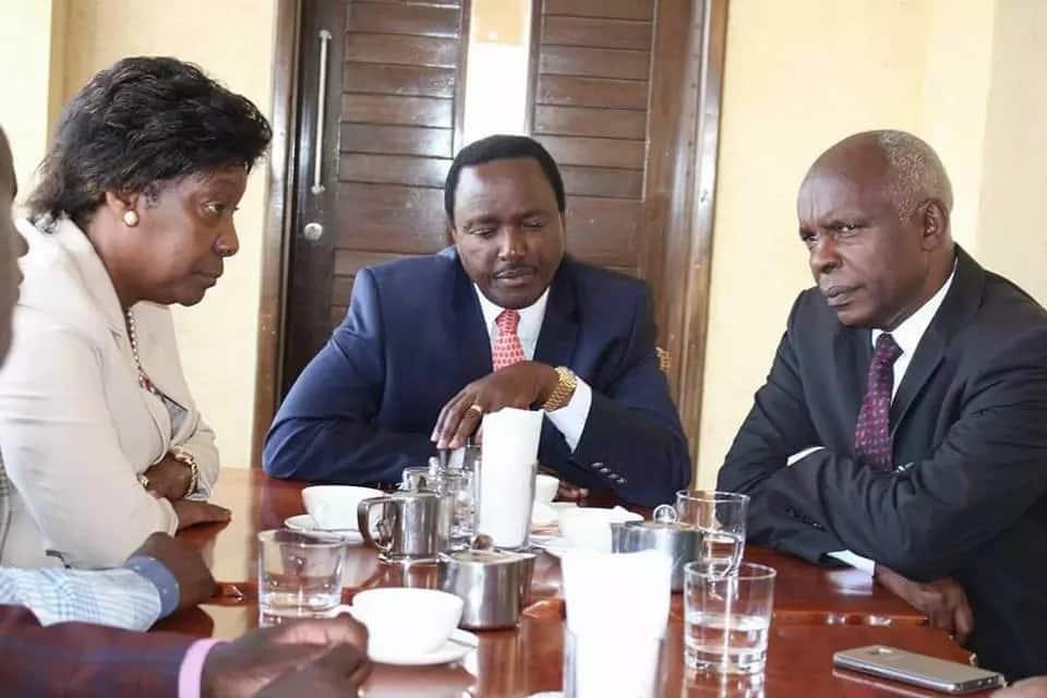 Huenda Ngilu na Kibwana wakamtema Kalonzo hivi karibuni