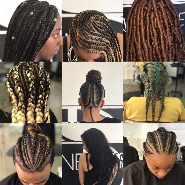 Easy hairstyles for braids (African hair) ▷ Tuko.co.ke