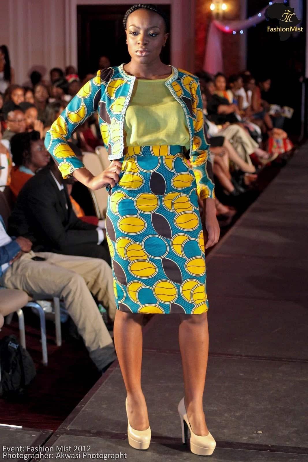 Kitenge designs for office wear