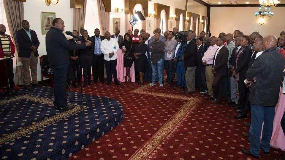 Uhuru atoa ujumbe huu mkali kwa viongozi wa Jubilee waliochaguliwa