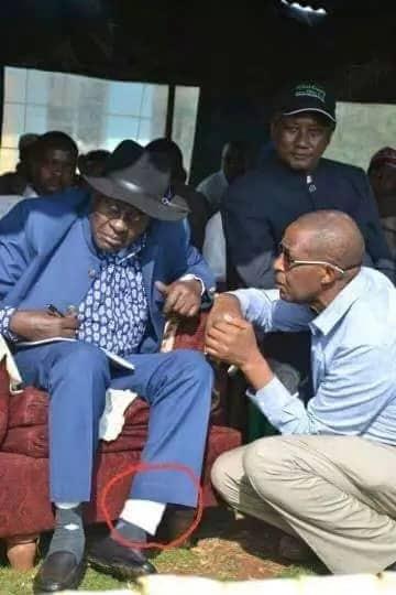 Did Governor Nderitu Gachagua wear two pairs of trousers?