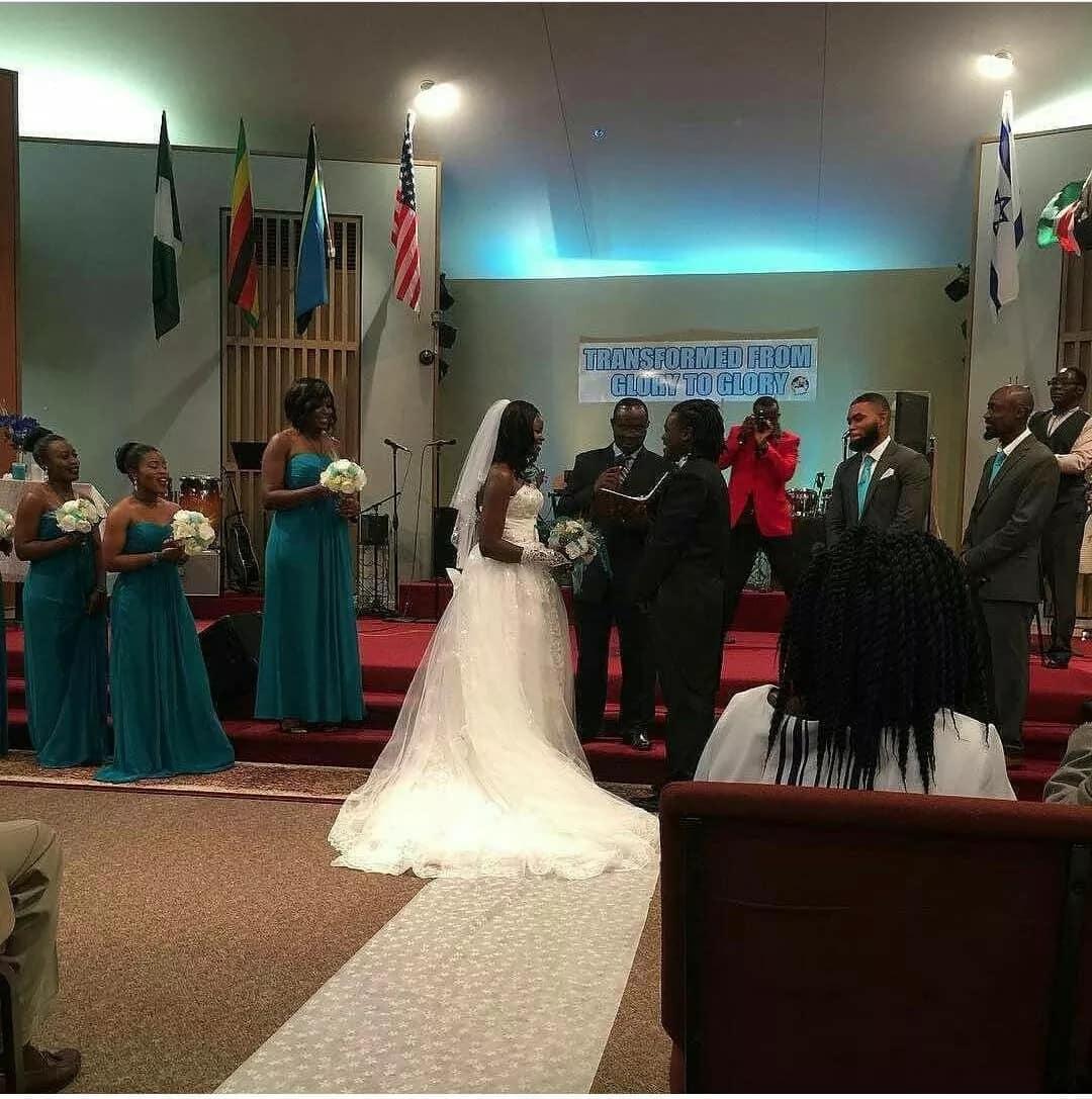 So, Eunice Njeri LIED to Kenyans! Texas pastor explains what happened at the wedding