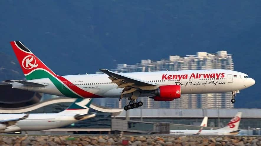 An aircraft may occasionally lose contact with ATC due to various reasons including power failure. Photo: Kenya Airways.