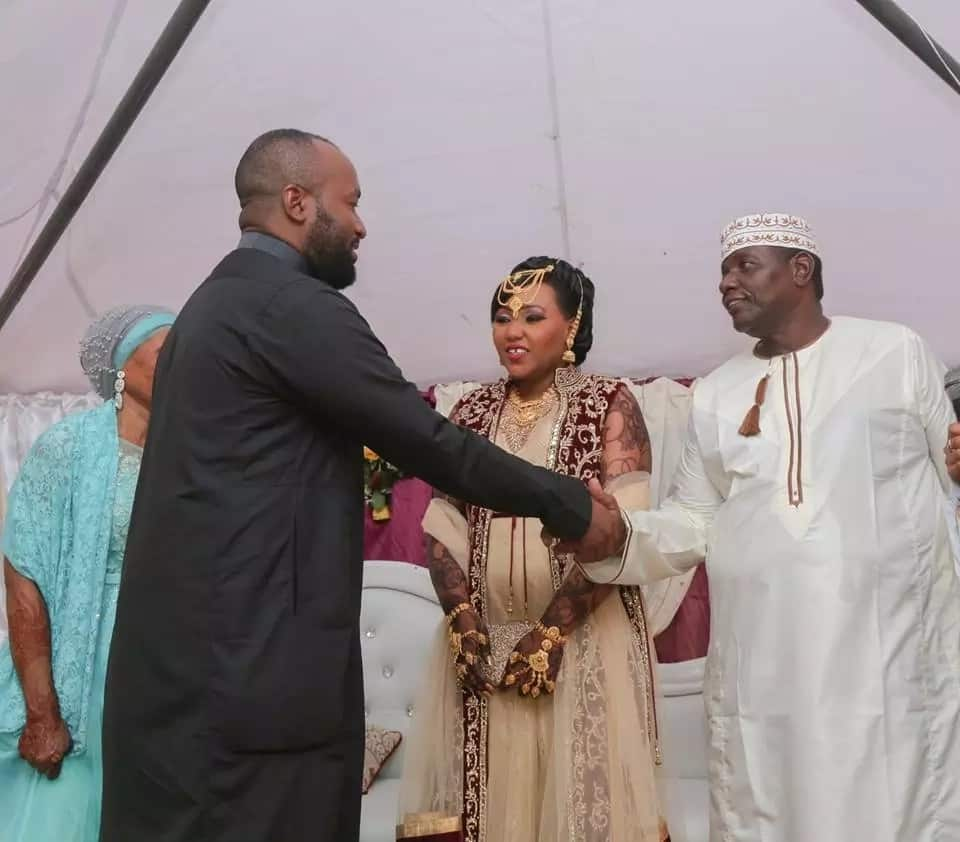 Hassan Joho's friend weds in a colorful Swahili wedding (Photos)