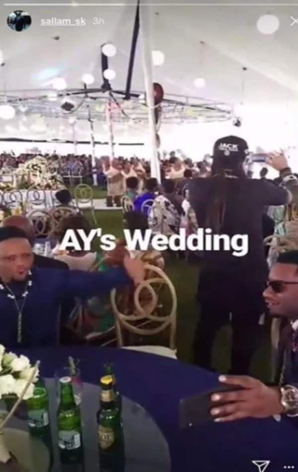 Legendary rapper AY finally walks down the aisle with hot Rwandese fiance