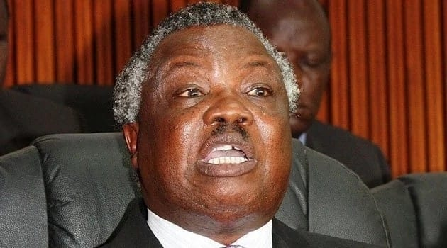 COTU Secretary General Francis Atwoli comes to the defense of police officers whose salaries were slashed by government.