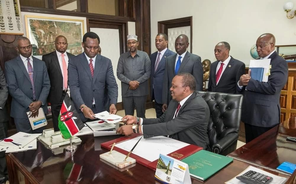 Uhuru has signed into law Finance Bill 2018, here is how new taxes will affect you