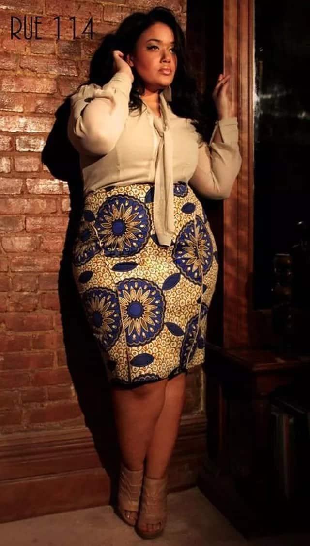Kitenge skirt designs for ladies