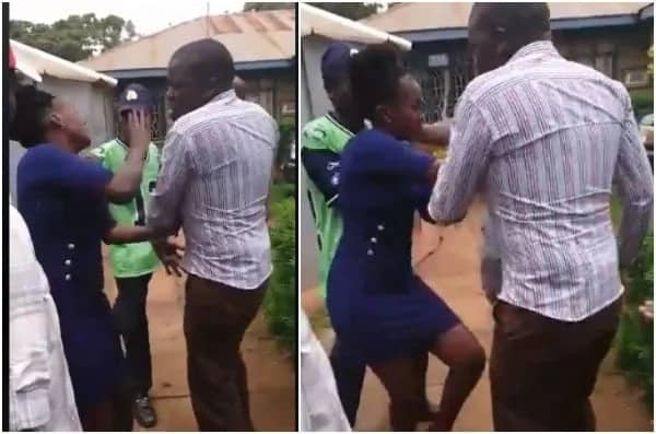 Jubilee MP's security beat up Maendeleo Chap Chap campaigner as police officers watch