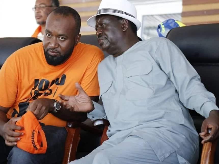 Joho ni kifaranga ya kuku kamili – Raila