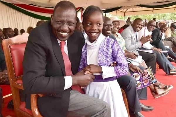 DP Ruto left in stitches after young girl claims he was right about Canaan, unlike Raila