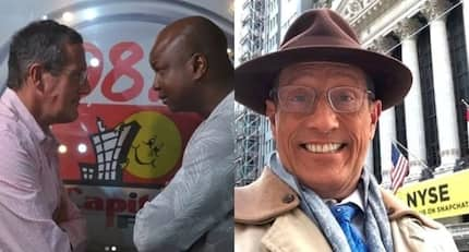 CNN business anchor Richard Quest speaks about being gay during Kenyan trip
