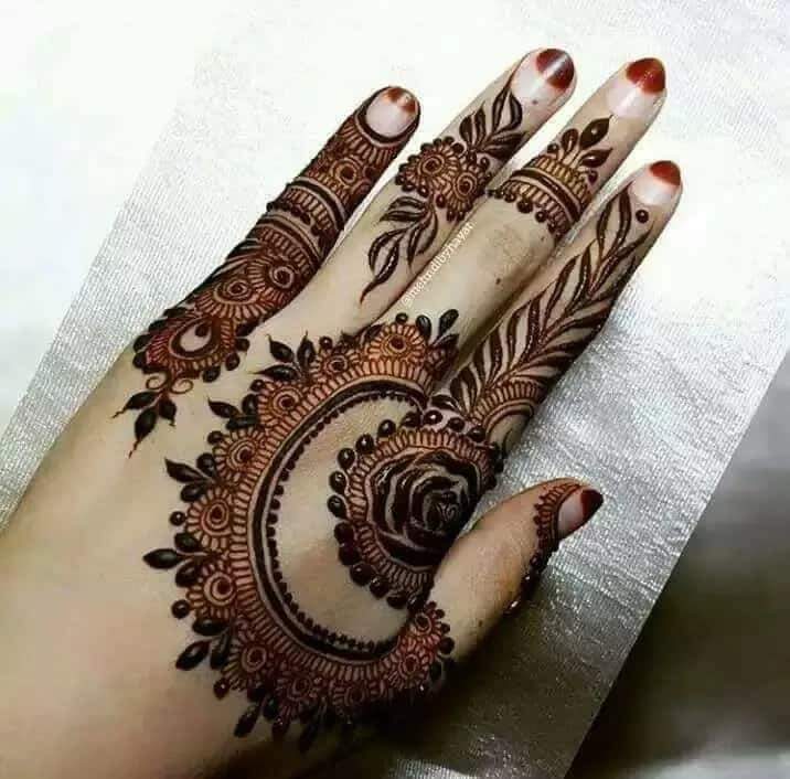 50+ latest Arabic Mehndi designs 2019 (pictures) ▷ Tuko co ke