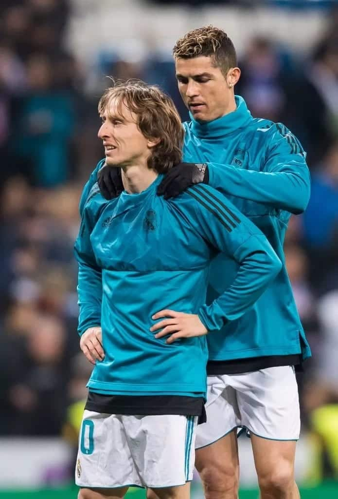 Cristiano Ronaldo congratulated me after winning UEFA player of the year award - Modric