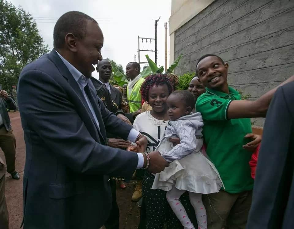 Thank you for re-electing me despite the violence and witchcraft - Uhuru