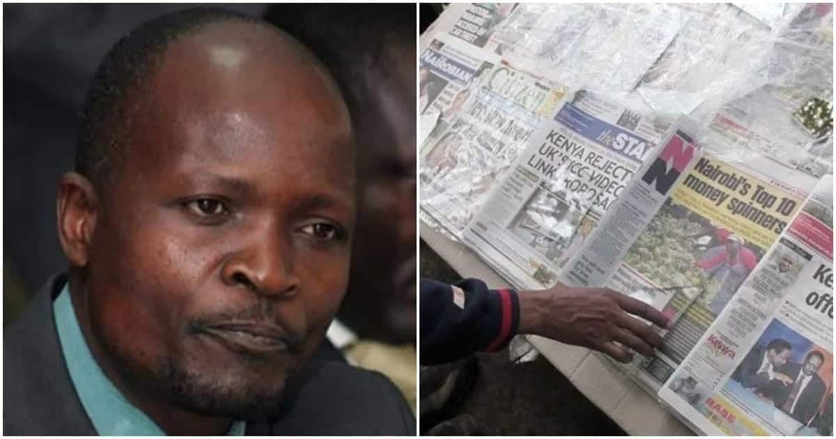 Confusion as unknown people buy all newspapers off streets of Migori