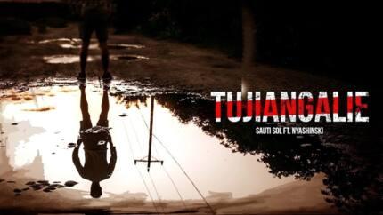 Tujiangalie - Sauti Sol ft Nyashinski video, comments, and reaction