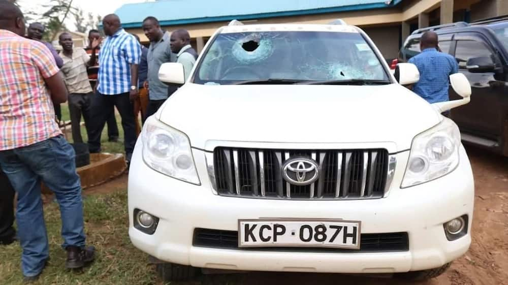 Several feared dead after goons fire shots at Kakamega senator's convoy in Mumias