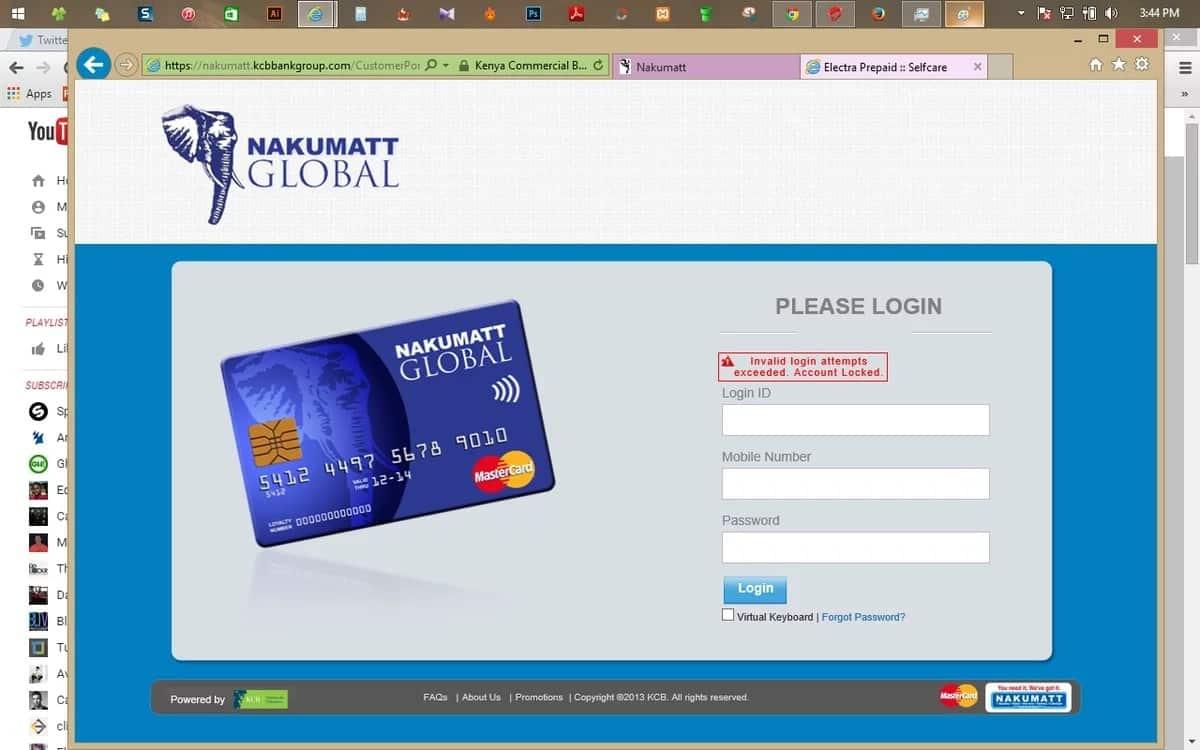 Nakumatt financial management portal
