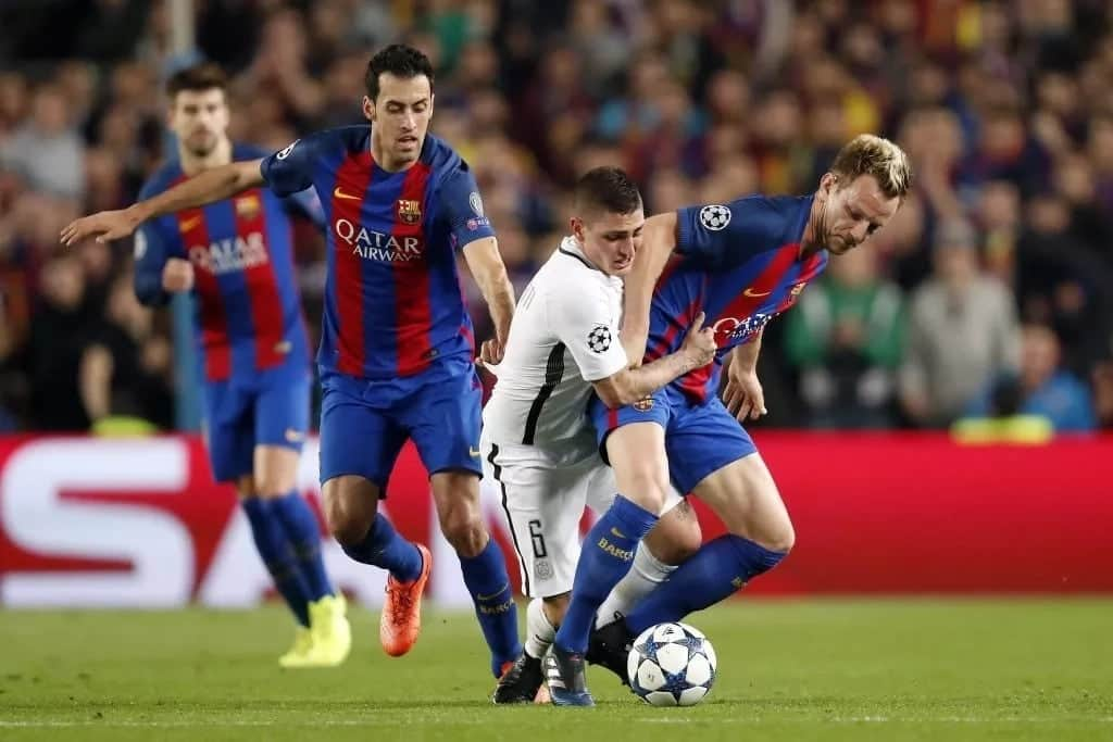 PSG eye Barcelona duo Rakitic and Busquets as Rabiot rejects renewing contract