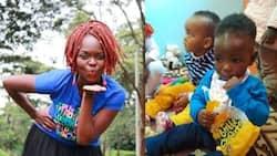Mwigizaji wa Papa Shirandula Naliaka hatimaye aonyesha uso wa mwanawe