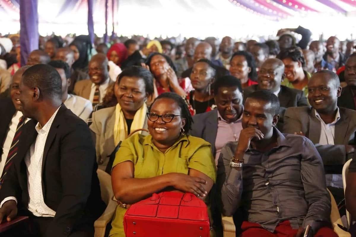 Ruto, Oparanya grace Amina Mohamed's Kakamega grand homecoming party