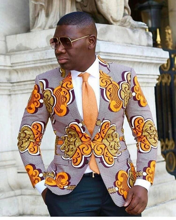 Latest Ankara styles for male 2018