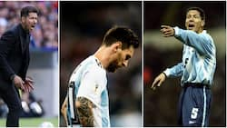 Atletico Madrid manager Diego Simeone lashes out at Lionel Messi after Argentina defeat