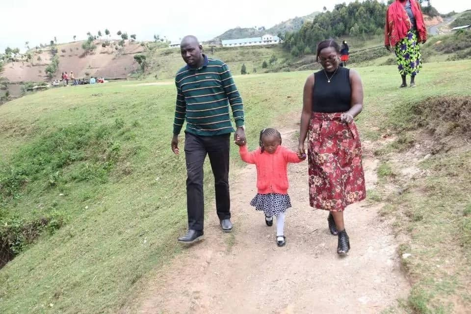 Senator Murkomen celebrates SWEET victory after tagging along daughter to polling station