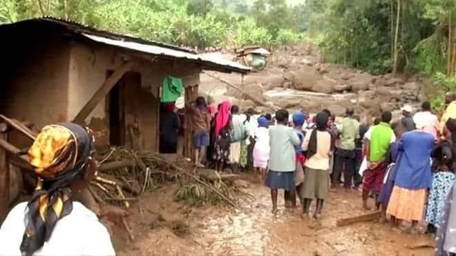 40 dead, 400 missing as mudslides rock Uganda