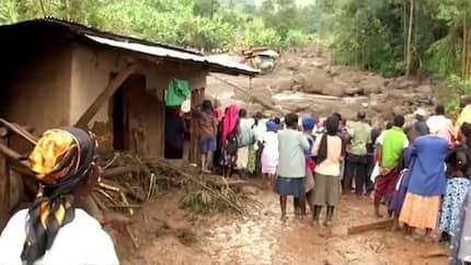 Watu 40 wafariki, 400 wazama katika mporomoko wa ardhi Uganda