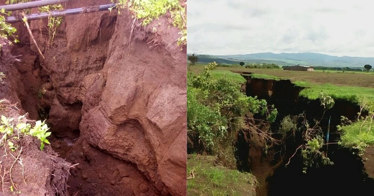 Another fault line sparks fears in Naivasha as it cuts through farms