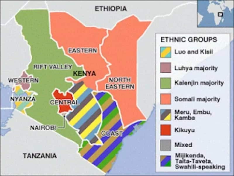 Kenya population by tribe as of 2018