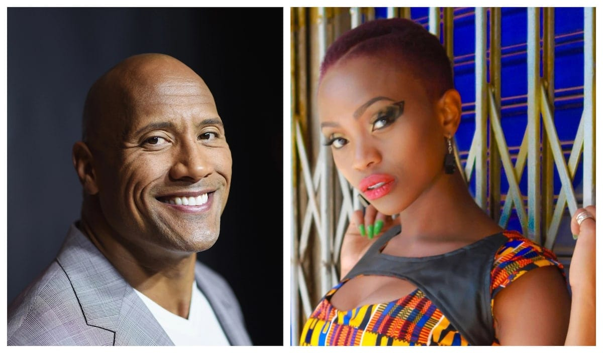 Kenyan rapper Stella Mwangi gets massive endorsement from American actor The Rock