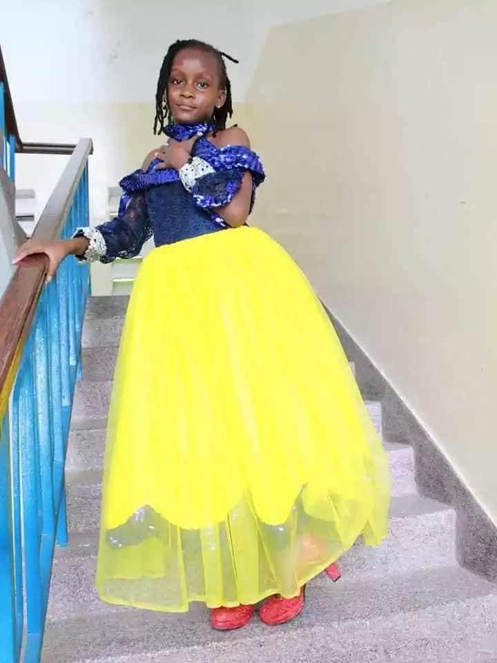 Msichana mchoraji wa miaka 9 kutoka Mombasa ana zawadi ya kupendeza ya Rais Uhuru