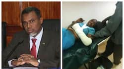 Kenyans demand arrest of husband who beat wife to near death in Bomet
