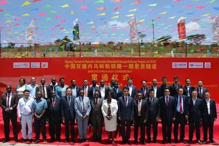 Kenya under siege! Huge Chinese billboards emerge again and Kenyans can't take it