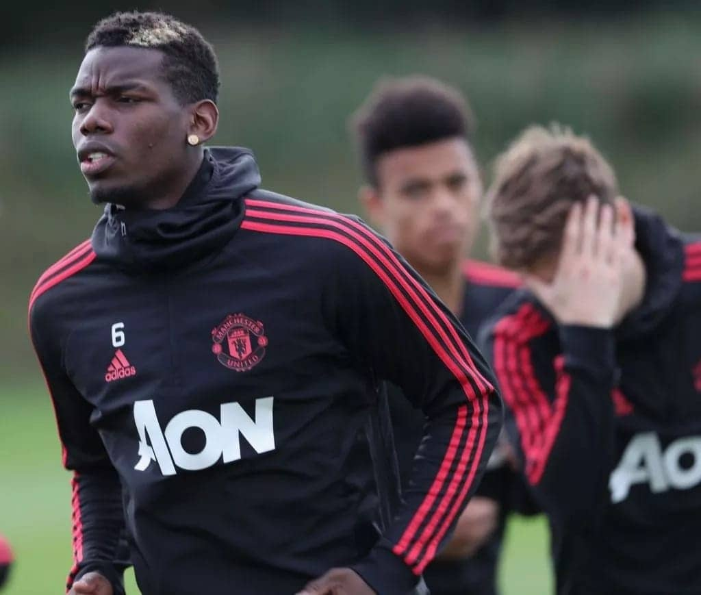 Manchester United to punish Pogba for social media dig at Mourinho
