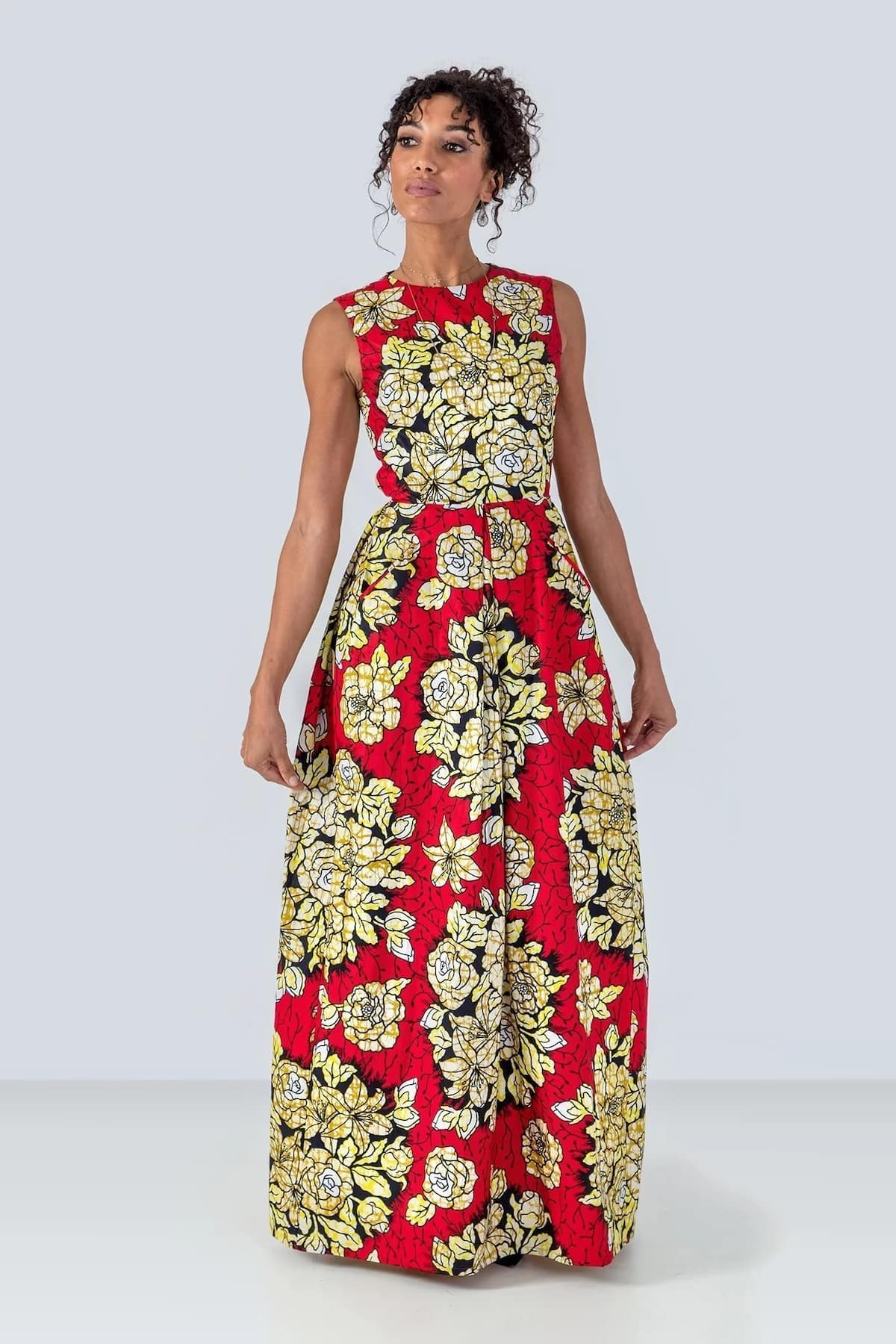 african print and chiffon dresses,african print dresses 2018,african print dresses styles