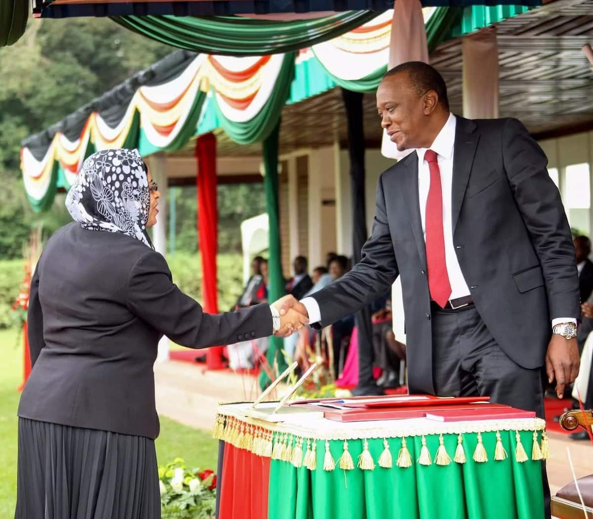 Uhuru Kenyatta amemkumbuka marehemu Maryam Al Maawy kwa njia ya kipekee(Picha)