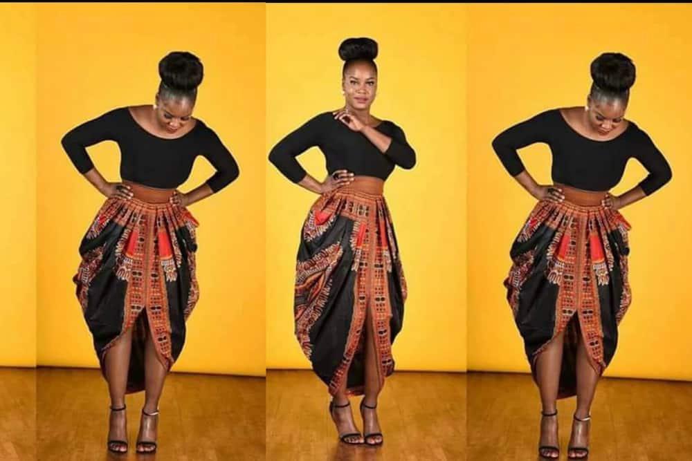 Unique ankara skirt styles