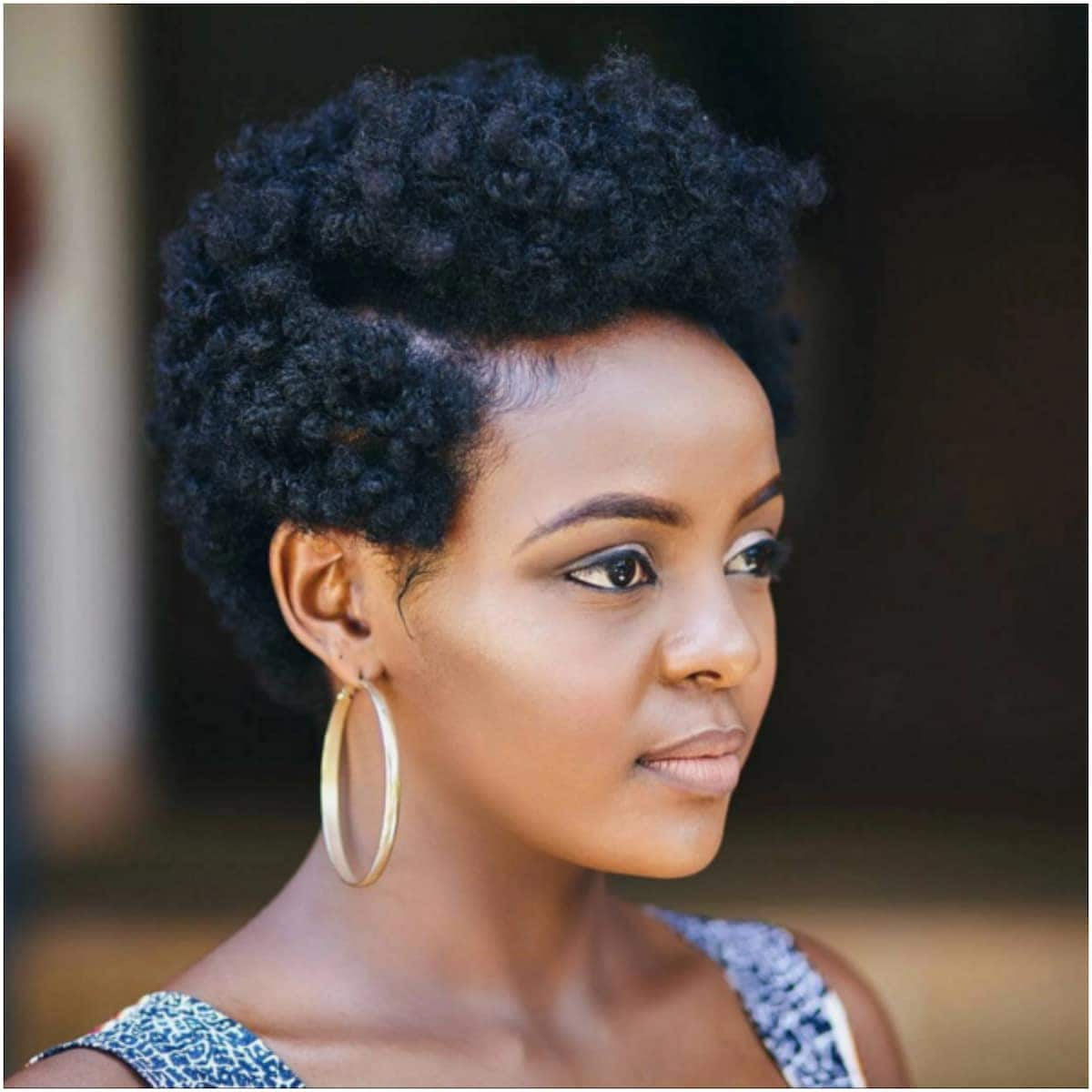 Latest black natural hairstyles for work Natural hairstyles for short hair Natural African hairstyles Hairstyles for short natural hair