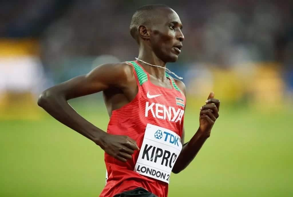 1,500 metres champion Asbel Kiprop's lover aborted his baby to conceal pregnancy from husband