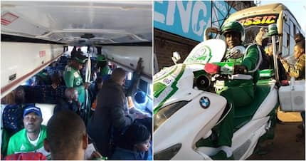 Moses Kuria delivers on his promise, sponsors excited Gor Mahia fans to Tanzania