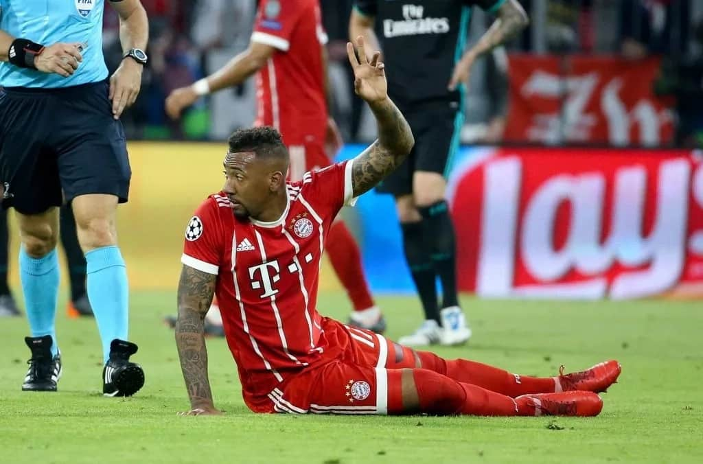 Jerome Boateng set to miss this year's World Cup over thigh injury