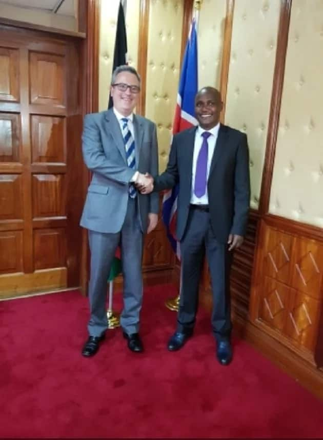 Duale, Mbadi meet top UK diplomat to discuss Uhuru-Raila deal