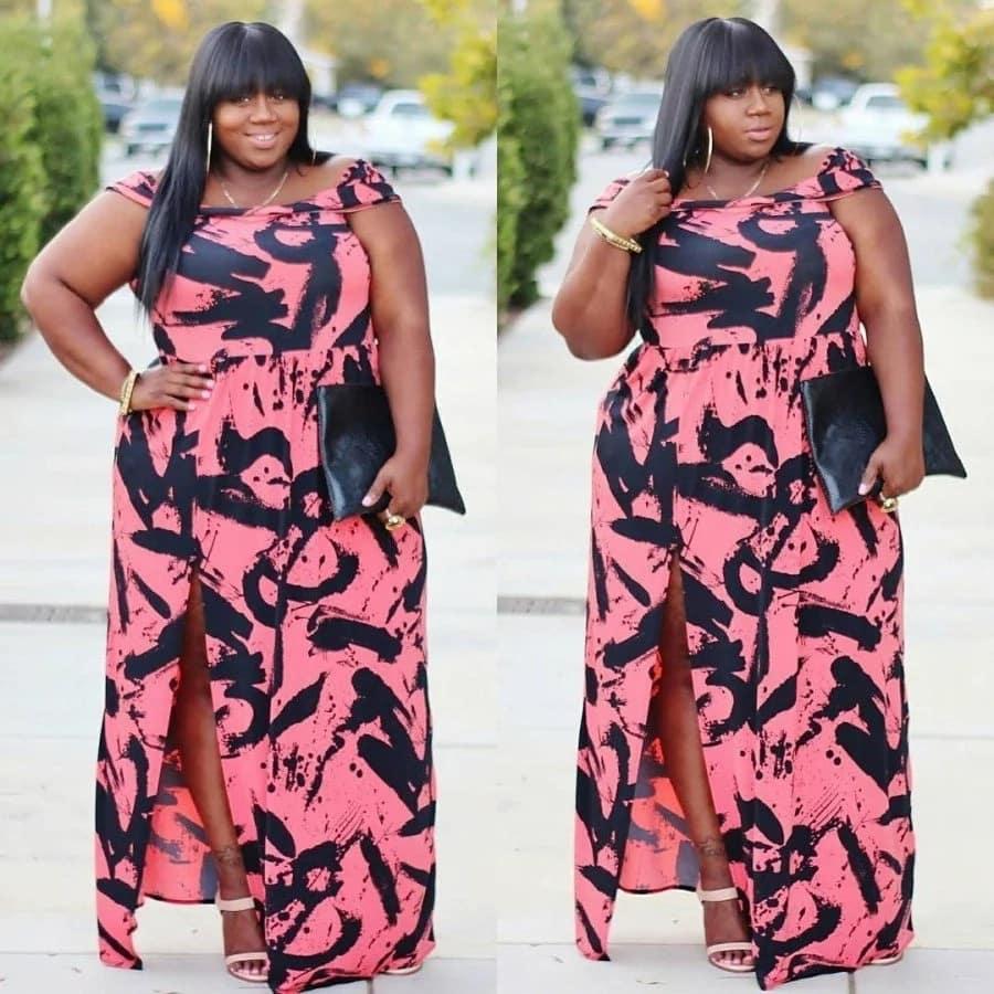 Kitenge designs for plus size ladies