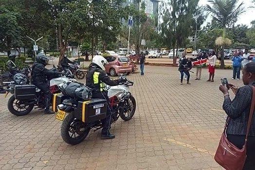 Kenyan couple splash KSh 25milion for 3-year trip around the world on motorcycles